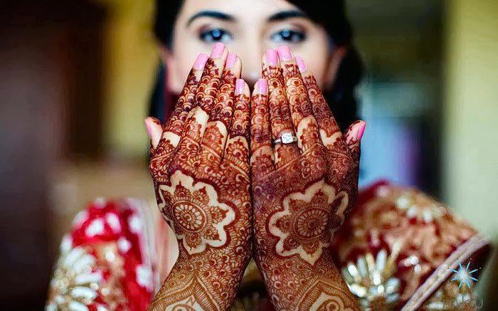 фото Мехенди на свадьбу от 04.12.2017 №061 - Mehendi for the wedding - tattoo-photo.ru