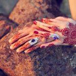 фото Мехенди на свадьбу от 04.12.2017 №070 - Mehendi for the wedding - tattoo-photo.ru