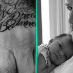 фото Тату Дэвида Бекхэма от 26.11.2017 №013 - Tattoo of David Beckham - tattoo-photo.ru