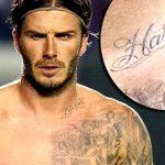 фото Тату Дэвида Бекхэма от 26.11.2017 №024 - Tattoo of David Beckham - tattoo-photo.ru