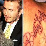 фото Тату Дэвида Бекхэма от 26.11.2017 №033 - Tattoo of David Beckham - tattoo-photo.ru