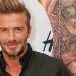 фото Тату Дэвида Бекхэма от 26.11.2017 №035 - Tattoo of David Beckham - tattoo-photo.ru