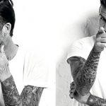 фото Тату Дэвида Бекхэма от 26.11.2017 №048 - Tattoo of David Beckham - tattoo-photo.ru