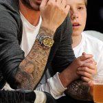 фото Тату Дэвида Бекхэма от 26.11.2017 №051 - Tattoo of David Beckham - tattoo-photo.ru