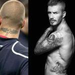 фото Тату Дэвида Бекхэма от 26.11.2017 №064 - Tattoo of David Beckham - tattoo-photo.ru