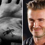 фото Тату Дэвида Бекхэма от 26.11.2017 №065 - Tattoo of David Beckham - tattoo-photo.ru