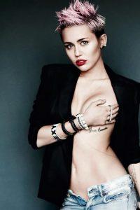 фото Тату Майли Сайрус от 05.12.2017 №001 - Miley Cyrus Tattoo - tattoo-photo.ru