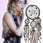 фото Тату Майли Сайрус от 05.12.2017 №026 - Miley Cyrus Tattoo - tattoo-photo.ru