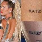 фото Тату Майли Сайрус от 05.12.2017 №052 - Miley Cyrus Tattoo - tattoo-photo.ru