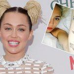 фото Тату Майли Сайрус от 05.12.2017 №082 - Miley Cyrus Tattoo - tattoo-photo.ru
