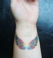 фото тату Крылья от 04.12.2017 №003 — Tattoo Wings — tattoo-photo.ru