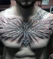фото тату Крылья от 04.12.2017 №006 — Tattoo Wings — tattoo-photo.ru