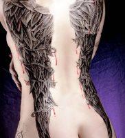 фото тату Крылья от 04.12.2017 №009 — Tattoo Wings — tattoo-photo.ru