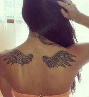 фото тату Крылья от 04.12.2017 №011 — Tattoo Wings — tattoo-photo.ru
