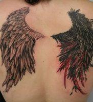 фото тату Крылья от 04.12.2017 №014 — Tattoo Wings — tattoo-photo.ru