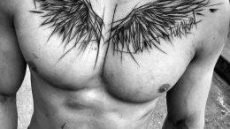 фото тату Крылья от 04.12.2017 №076 - Tattoo Wings - tattoo-photo.ru