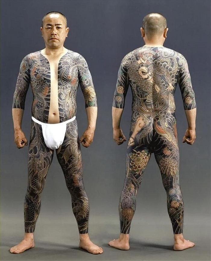 подходят фото татуировок якудза распространенная ситуация