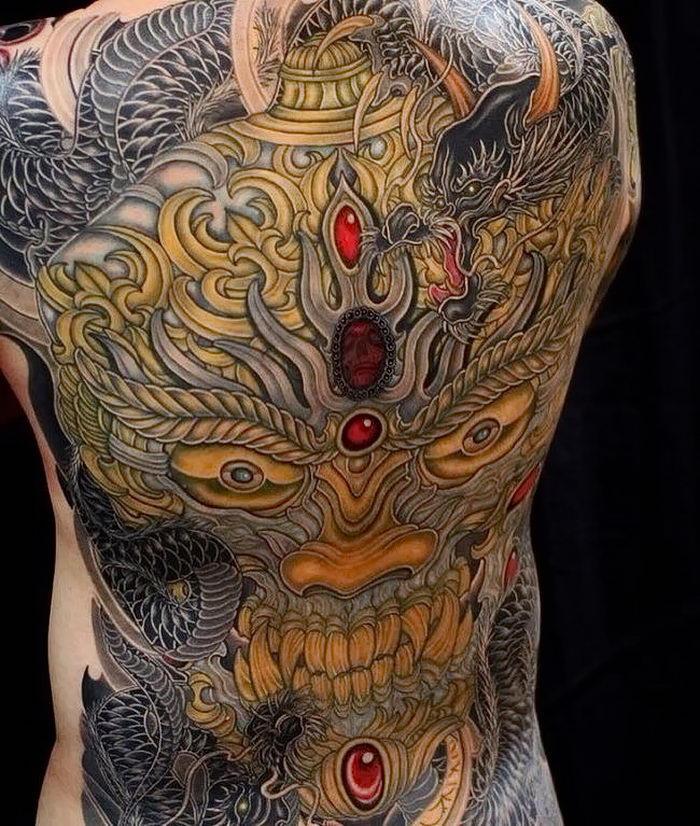 может иметь фото татуировок якудза этом соборе