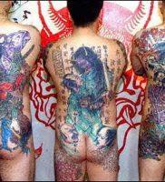фото тату Якудза от 04.12.2017 №099 — Yakuza tattoo — tattoo-photo.ru