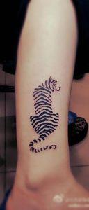 фото тату с полосой от 05.12.2017 №012 - tattoo with stripe - tattoo-photo.ru