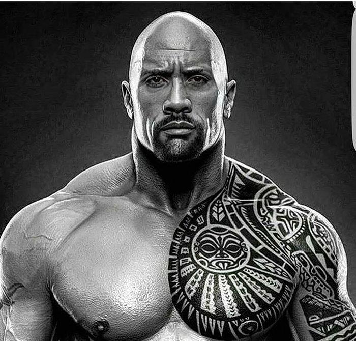 Татуировки дуэйна скалы джонсона 22