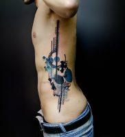 фото тату геометрические фигуры от 25.12.2017 №115 — tattoo geometric — tattoo-photo.ru