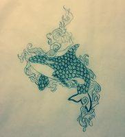 фото тату рыба кит от 07.12.2017 №140 — fish whale tattoo — tattoo-photo.ru