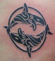 фото тату рыба кит от 07.12.2017 №142 — fish whale tattoo — tattoo-photo.ru