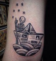фото тату скелет от 28.12.2017 №001 — tattoo skeleton — tattoo-photo.ru