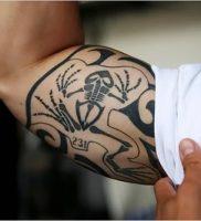 фото тату скелет от 28.12.2017 №002 — tattoo skeleton — tattoo-photo.ru