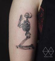 фото тату скелет от 28.12.2017 №003 — tattoo skeleton — tattoo-photo.ru