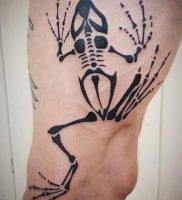фото тату скелет от 28.12.2017 №004 — tattoo skeleton — tattoo-photo.ru