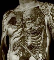 фото тату скелет от 28.12.2017 №005 — tattoo skeleton — tattoo-photo.ru