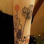 фото Абстрактные тату от 16.01.2018 №002 - Abstract tattoos - tattoo-photo.ru