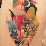 фото Абстрактные тату от 16.01.2018 №012 - Abstract tattoos - tattoo-photo.ru