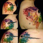 фото Абстрактные тату от 16.01.2018 №021 - Abstract tattoos - tattoo-photo.ru