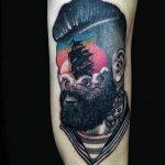фото Абстрактные тату от 16.01.2018 №044 - Abstract tattoos - tattoo-photo.ru