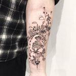 фото Абстрактные тату от 16.01.2018 №049 - Abstract tattoos - tattoo-photo.ru