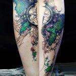 фото Абстрактные тату от 16.01.2018 №058 - Abstract tattoos - tattoo-photo.ru