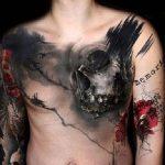 фото Абстрактные тату от 16.01.2018 №060 - Abstract tattoos - tattoo-photo.ru
