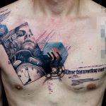 фото Абстрактные тату от 16.01.2018 №063 - Abstract tattoos - tattoo-photo.ru