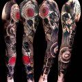 фото Абстрактные тату от 16.01.2018 №074 - Abstract tattoos - tattoo-photo.ru