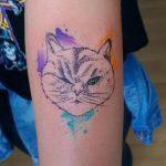 фото Абстрактные тату от 16.01.2018 №077 - Abstract tattoos - tattoo-photo.ru
