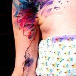 фото Абстрактные тату от 16.01.2018 №080 - Abstract tattoos - tattoo-photo.ru