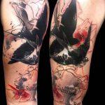 фото Абстрактные тату от 16.01.2018 №096 - Abstract tattoos - tattoo-photo.ru