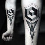 фото Абстрактные тату от 16.01.2018 №099 - Abstract tattoos - tattoo-photo.ru