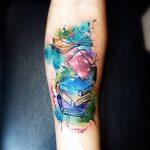 фото Абстрактные тату от 16.01.2018 №106 - Abstract tattoos - tattoo-photo.ru