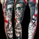 фото Абстрактные тату от 16.01.2018 №114 - Abstract tattoos - tattoo-photo.ru