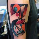 фото Абстрактные тату от 16.01.2018 №118 - Abstract tattoos - tattoo-photo.ru
