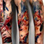 фото Абстрактные тату от 16.01.2018 №124 - Abstract tattoos - tattoo-photo.ru